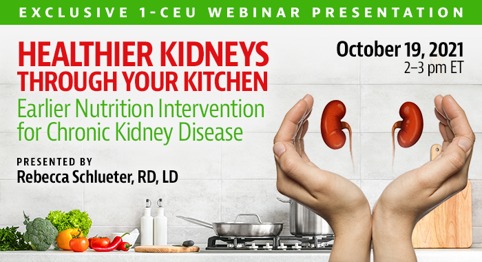 Healthier Kidneys Through Your Kitchen
