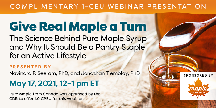 Give Real Maple a Turn Webinar by Maple From Canada
