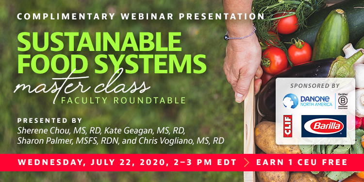 Sustainable Food Systems Master Class Roundtable