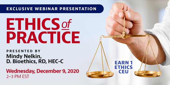 webinar on ethics of practice